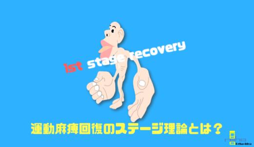 運動麻痺回復ステージ理論をリハビリ視点で考える!1st stage recoveryで知っておくべき必要な脳内機構とは!?